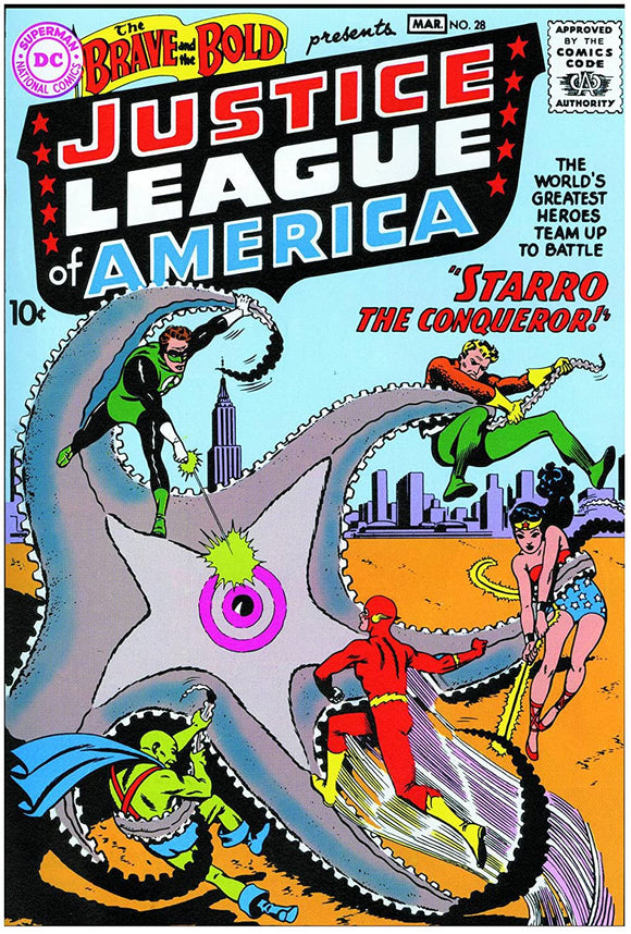 The Brave and the Bold - Justice League of America - Full Comic Book - Loot Crate Reprint