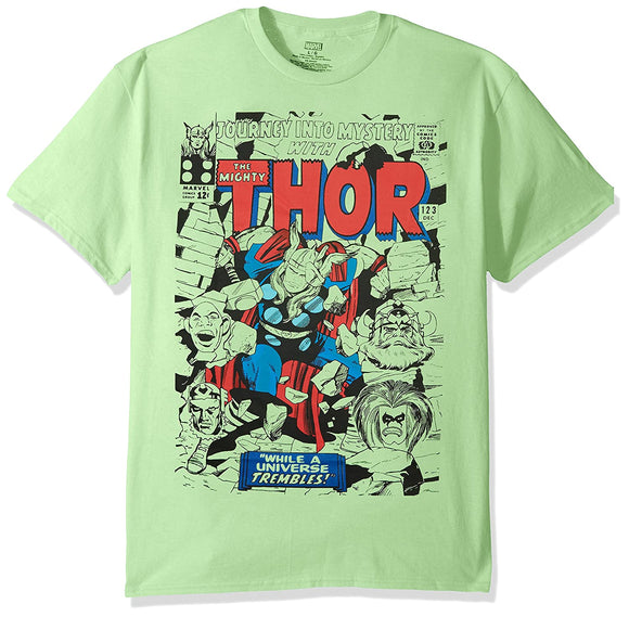 Men's Marvel Thor Hero Pastel Short Sleeve Graphic T-Shirts