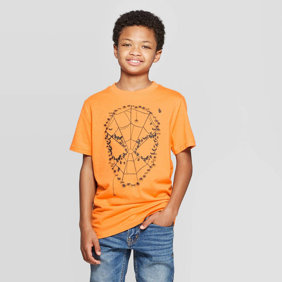 Boys' Spider-Man Halloween Marvel Short Sleeve Tee T-Shirt