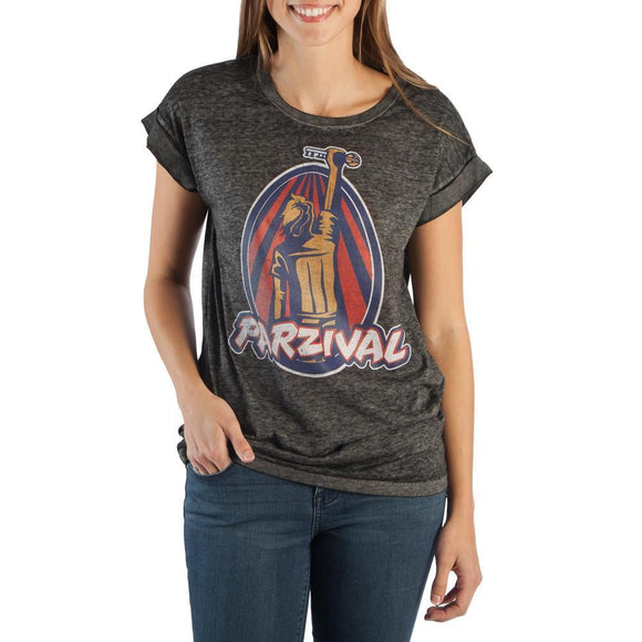 Womens Juniors Ready Player One Wade Parzival Victory T-Shirt Tee