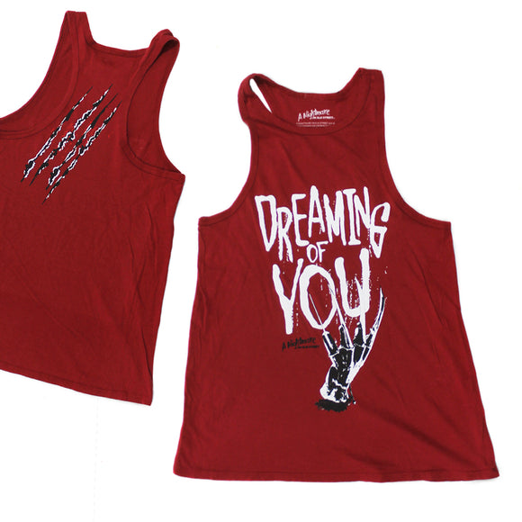 Juniors Women Nightmare on Elm Street Dreaming Of You Tank Top Shirt