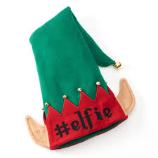 Adult Ugly Christmas Elfie Knit Hat Holiday Christmas Beanie