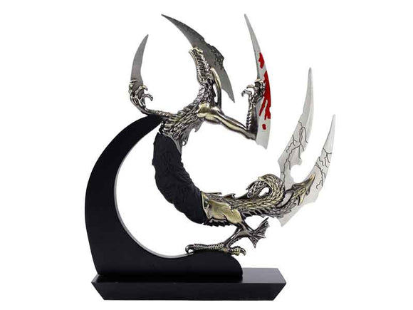 BS 014018 Fantasy Dragon With 5 blades and display