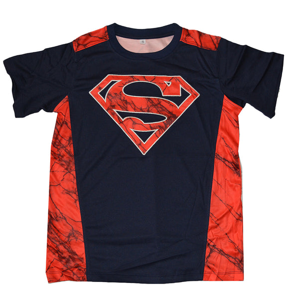 Boys Youth Superman DC Comics Active Tee T-Shirt