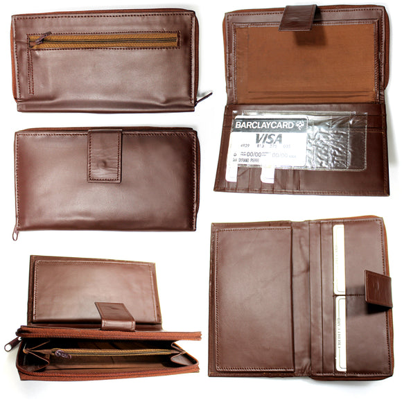 CB 02-BN Womens brown wallet