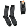 Grey The Hangover Movie Alan Garner Zach Galifianakis Crew Socks