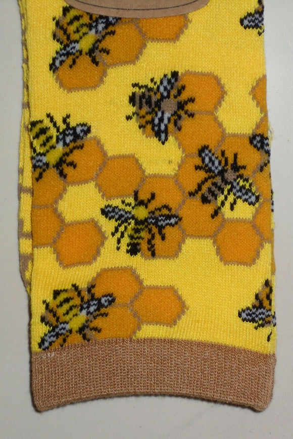 Free Authority Bee Honeycomb Socks