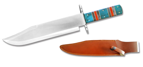 DC 2011-13GNW Hunting Knife with Leather Sheath