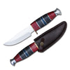 "DC 2011-5 9.75"" Hunting Knife with Leather Sheath"