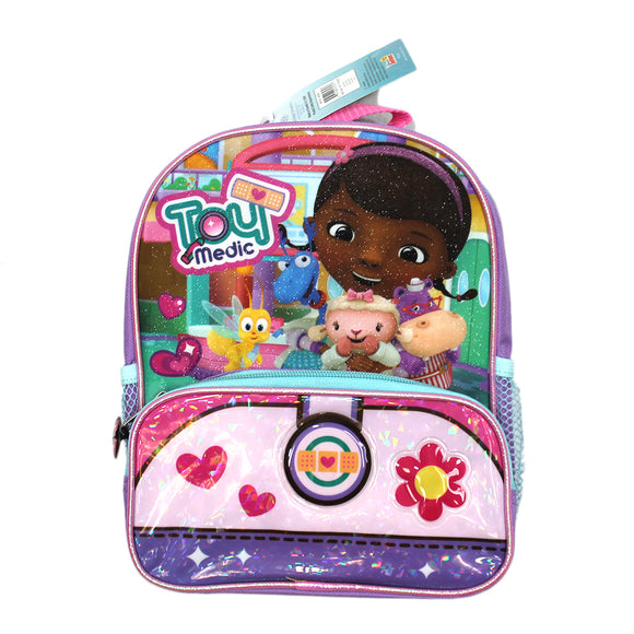 Disney Doc McStuffins TV Show Toy Medic Sparkle Mini Backpack
