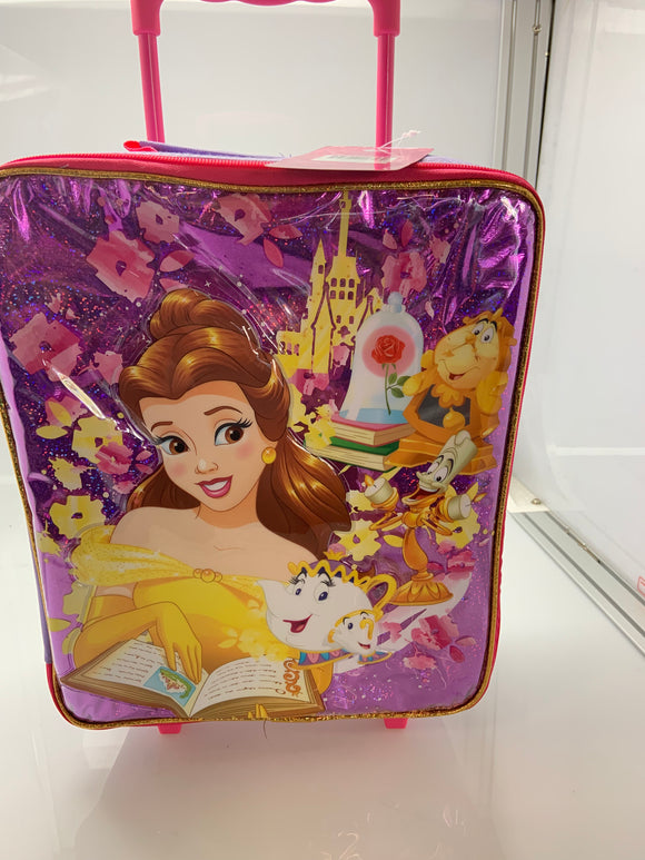 Disney Princess Pilot Case Rolling Luggage Beauty and the Beast