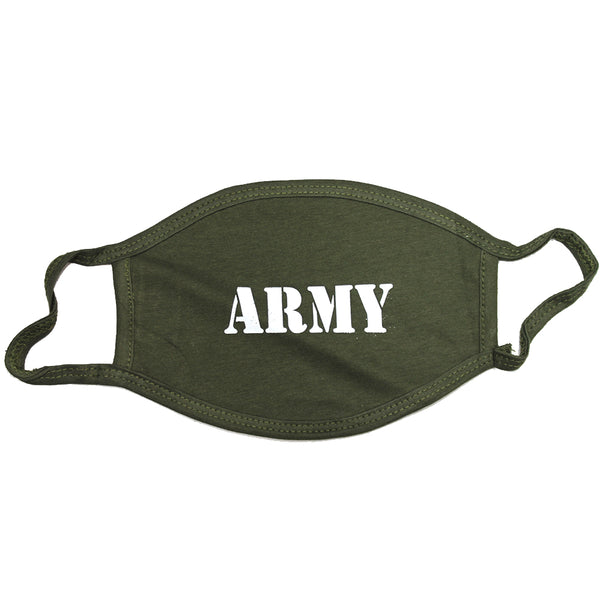 100 PCS ARMY 3-Layer Protect America Washable Face Mask Reusable 100% Cotton