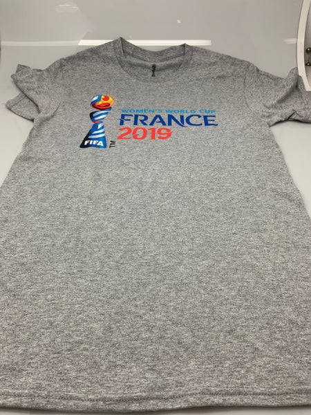Mens Grey Womens World Cup France 2019 Tee T-Shirt