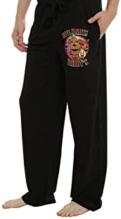 Mens Black Five Nights at Freddy's Lounge wear Pajama  Pants