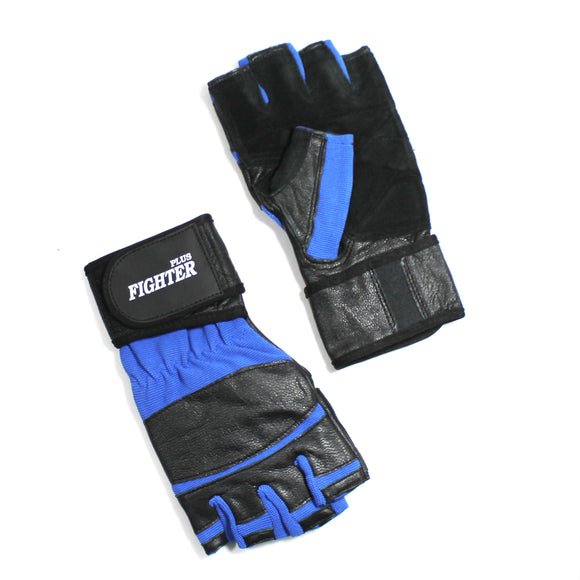 FP 08-BL Wrist Wrap Fingerless Gloves