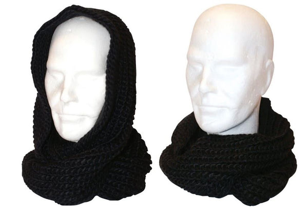 Free Authority Knit Scarf Black