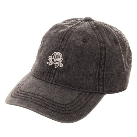 Adult Black Faded Rose Free Authority Dad Cap Hat