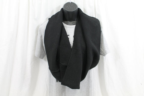 Free Authority Infinity Scarf Oversized Chunky Black