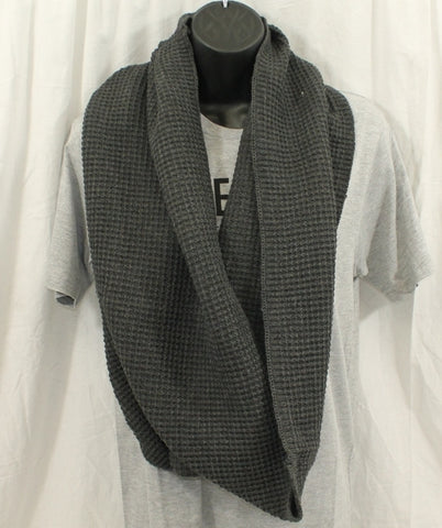 Free Authority Knit Scarf Gray