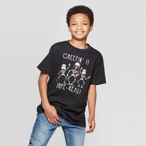 Boys Star Wars Halloween Short Sleeve T-Shirt Tee