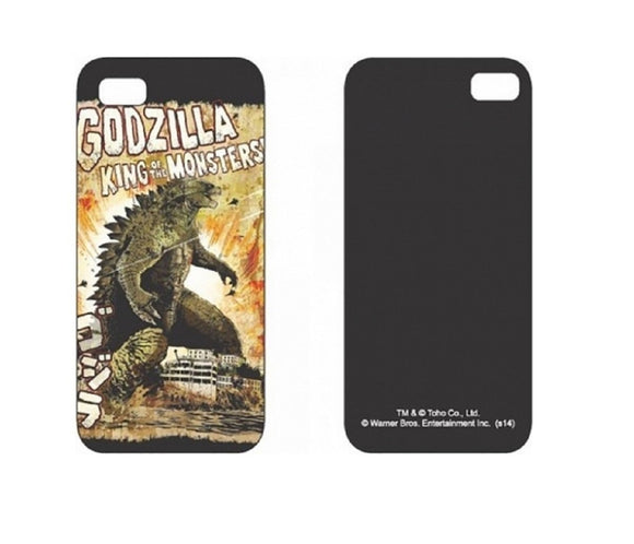 I Phone Iphone 5 Licensed Godzilla Hard Case Movie Apple