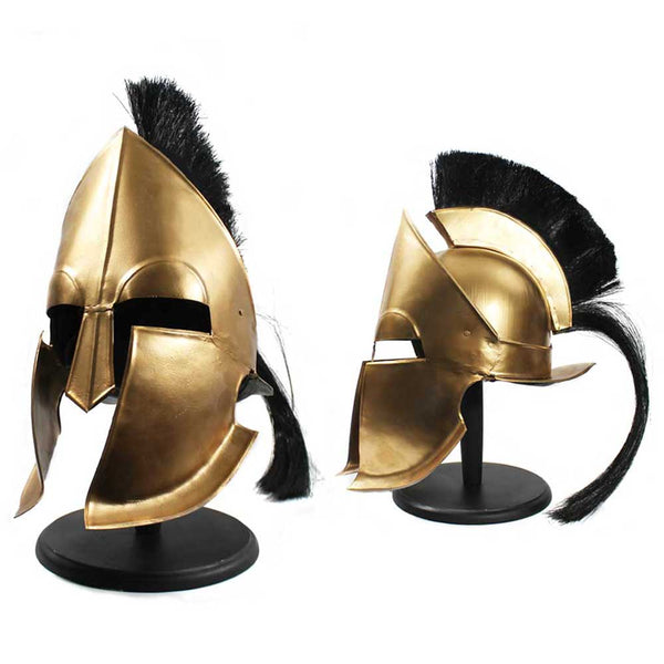 HL 300-GD LIFE-SIZE GREEK HELMET