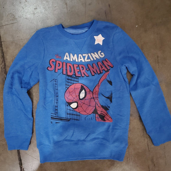 Boys 4-12 Jumping Beans® The Amazing Spiderman Sweater Pullover