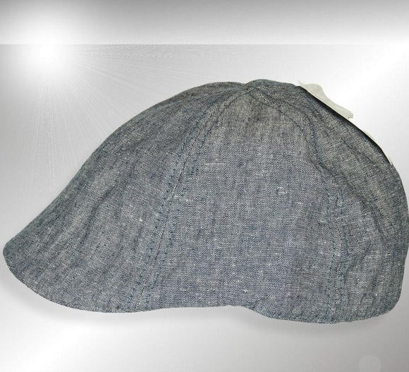 Mens Gray Fabric Free Authority Driving Cap