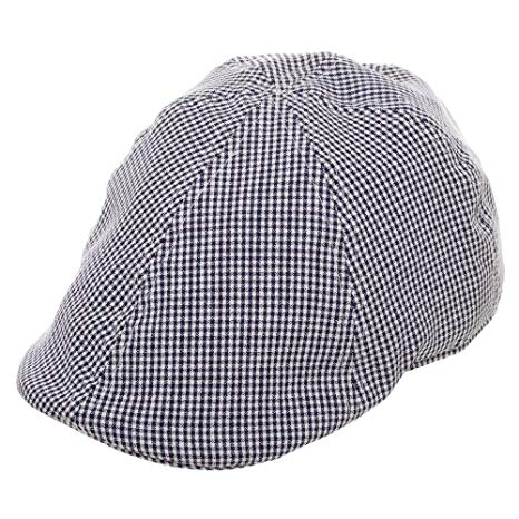 Mens Navy Free Authority Driving Cap
