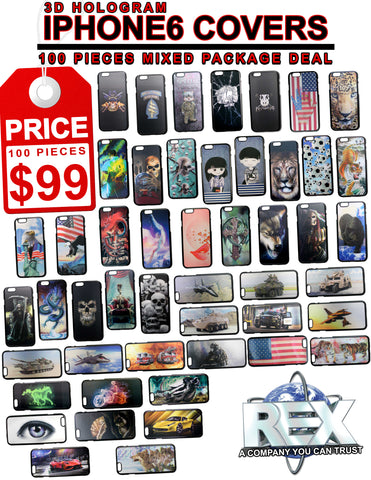 $99 for 100 pieces I PHONE 6 PHONE COVERS