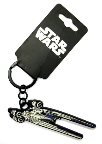 Star Wars Movie Rogue One Keychain Squadron X-Wing Fighter