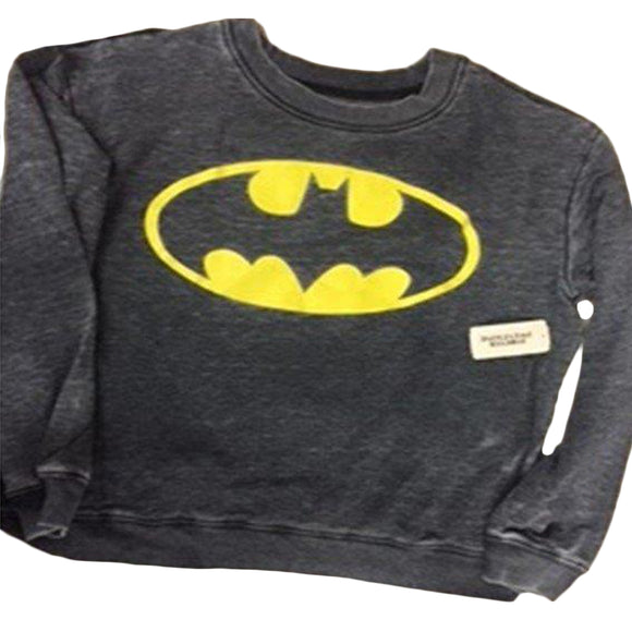 Mens Heather DC Comics Batman Pullover Sweater