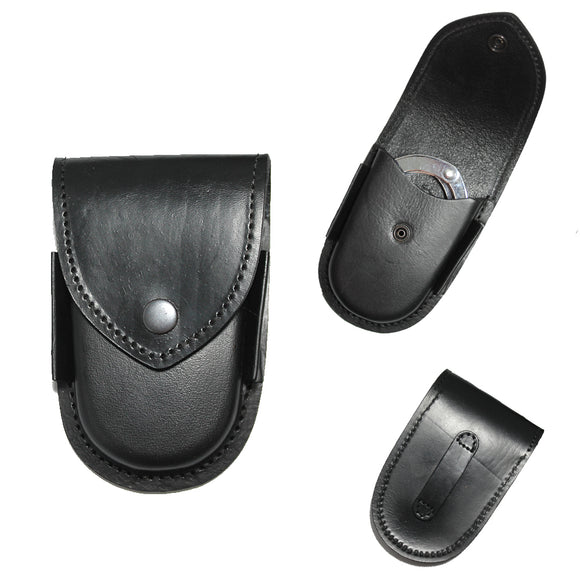 LHP 100-BK Black Leather Handcuff Holster