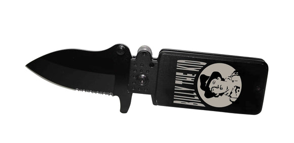 LK 1689-BK Billy The Kid Lighter Designed Knife