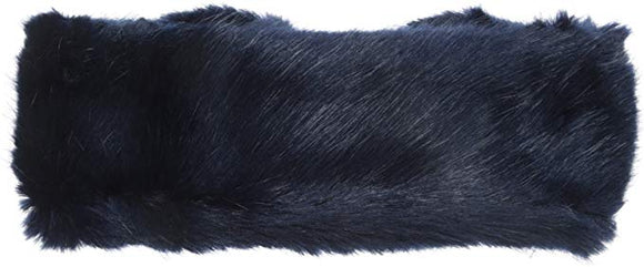 Laundry by Shelli Segal Women's Faux Fur Reversible Headband