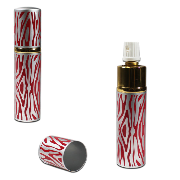 Lipstick Pepper Spray Red Zebra
