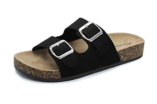 Adult Virtis Double Buckle Sandals