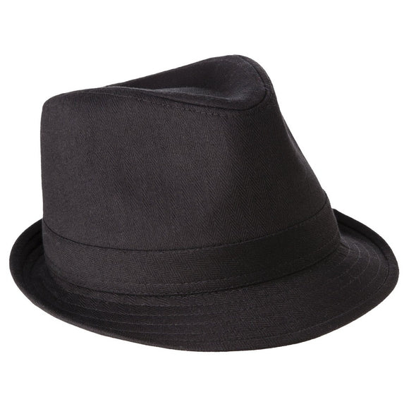 Mens Black Fedora Hat