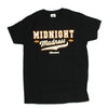 Mens Black AWS re:Invent Midnight Madness Las Vegas 2017 Graphic Tee Tshirt