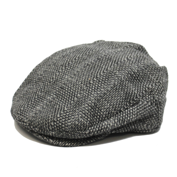 Mens Gray Wool Driving Free Authority Hat