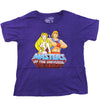 Mens Purple Masters Of The Universe He-Man She-Ra Cartoon TV Show Tee T Shirt