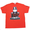 Mens Red I Own This City Monopoly Game Tee T Shirt