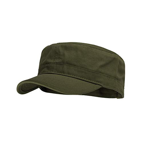 Men's Cadet Hat Military Brown Green