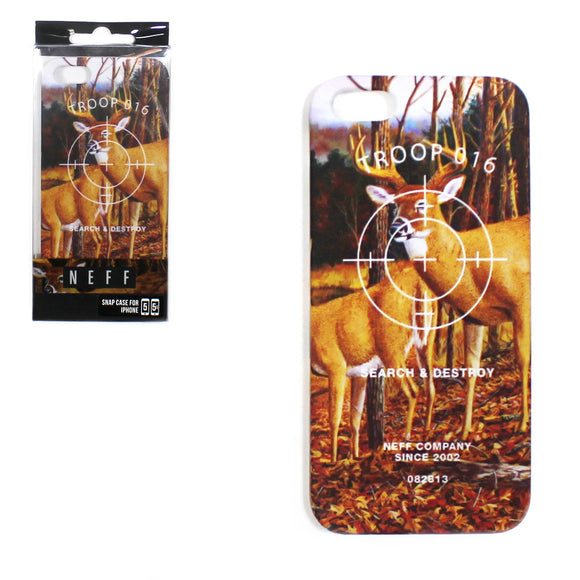 Neff I phone Iphone 5 Apple Phone Cover Case Deer Search & Destroy Hunting