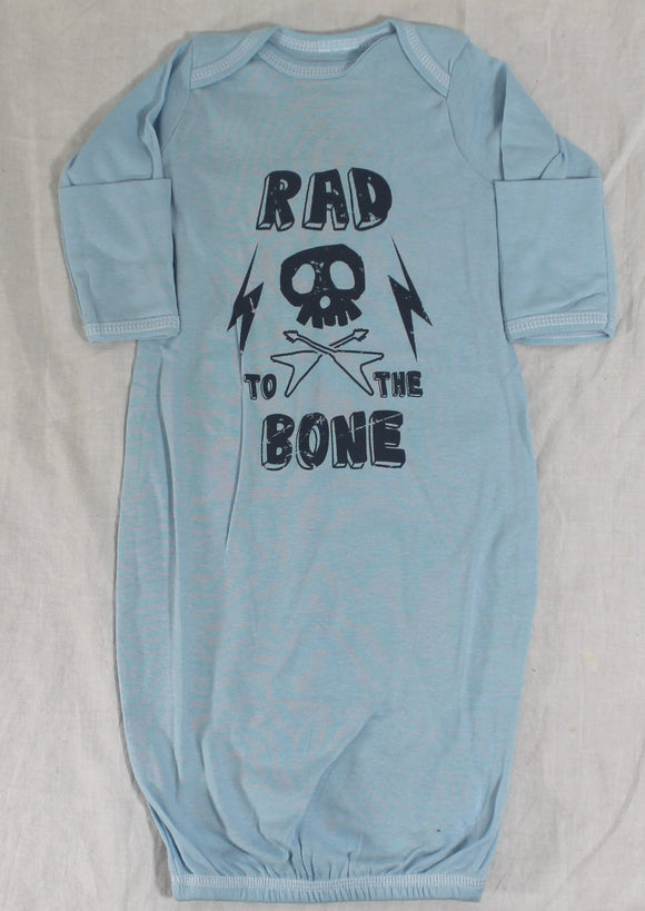 Newborn Romper Onesie  RAD TO THE BONE