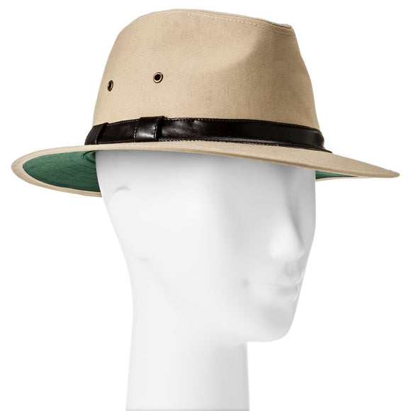 Mens Canvas Safari Khaki Outdoors Sun Hat