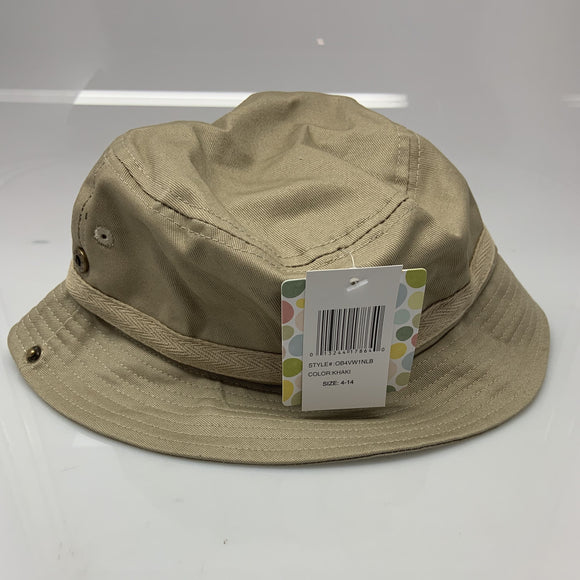 Nolan Tan Baby Sun Fisher Hat Size 4-14