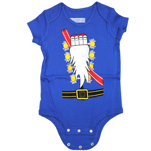 Newborn Baby One-Piece Nutcracker Holiday Suit