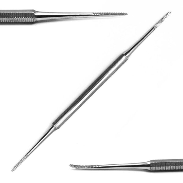 "PH 0011 5.5"" double-sided nail/cuticle file tool"