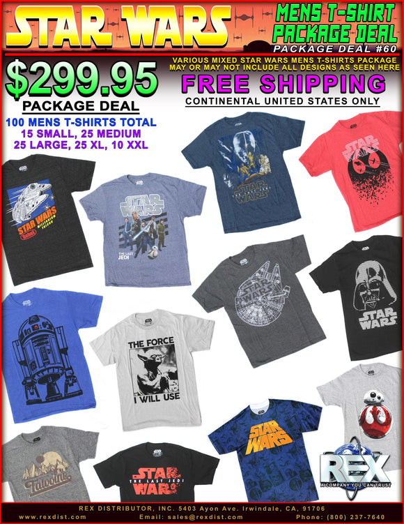 Package Deal #60 - Star Wars Mens Shirts